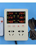 HS-656 постоянной влажности регулятор температуры (штекер в переменном-85-250v-3w; Диапазон рабочих температур: -9-99 ℃; две пачки)