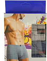 New Fashion Men's Cotton Underwear Health 4 Colour(2 Pcs/Box)