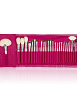 26 Makeup Brushes Set Goat Hair Portable Wood Face ShangYang(Brush Package)