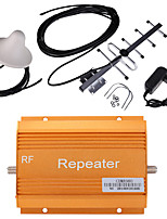 Gold CDMA980 850MHz Mobile Phone Signal Repeater Booster Amplifier + Antenna Kit