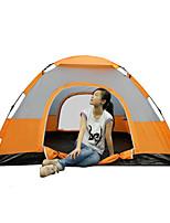 213*213*150CM Two Door Three Window Automatic Speed Open Tent Outdoor Camping Tents 1 Set