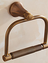 Antique Brass Finishing Bathroom Accessories Solid Brass Material Toilet Paper Holders