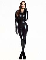 Costumes Plus de costumes Carnaval / Nouvel an Noir Couleur Pleine Fourrure Collant/Combinaison