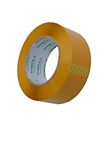 Beige Plastic Sealing Tape / Packing Ttape / Sealing Tape 4.5CM * 100 Meters Subsection (2 Vols A)