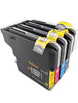 lc975 Tintenpatrone 985bk Farbdruckmaschine für eine Gruppe von vier Farben schwarz, rot, gelb, blau