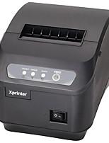 Xinye XP-Q200II Notes 80MM Small Thermal Printer, Supermarket Cash Register Kitchen Printer, Tape Cutter