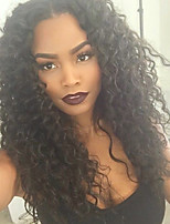 New Arrival Brazilian Virgin Human Hair Wigs Natural Color U Part Lace Front Wig Curly Lace Wigs