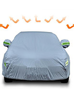 The Special Sewing Car Cover Thickened Sunshade Rainproof Dust And Sun Plus Velvet Garment Cover Thick Insulation