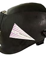 la cara de soldadura máscara de protección personal toda auricular negro