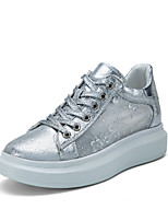 Women's Sneakers Spring / Summer / Fall Round Toe / Flats Tulle Outdoor / Office & Career