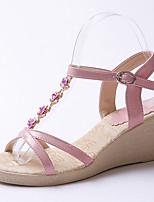 Women's Sandals Spring / Summer / Fall Platform / Sandals Party & Evening / Dress / Casual Wedge HeelBuckle /