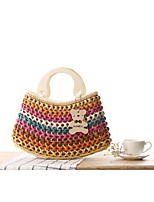 STYLE-CICI® Women Straw Tote Blue / Yellow / Brown / Red / Fuchsia-36433749261
