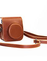 PU-Leder-Minikamera Fall für Fujifilm Instax Mini 70 mit abnehmbarem Schultergurt