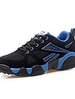 Uniseks Sneakers Lente / Herfst Comfortabel Suède Informeel Platte hak Veters Blauw / Geel / Rood Sneakers