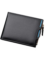 Men Fashion Wallet Coin Purses Holders Top Leather Casual Clutch Wallets
