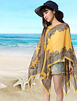 Women Polyester Scarf,Casual