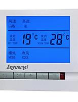 Регулятор температуры и влажности для центрального кондиционера (штекер в переменном-220в; Диапазон рабочих температур: 0-60 ℃)