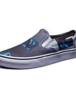 Vans Slip On Classics Men's Shoes Canvas Outdoor / Athletic / Casual Sneakers Navy