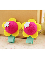 Girls Hair Accessories,All Seasons Cotton Multi-color