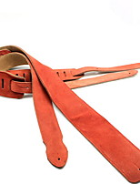Professional General Accessories High Class Guitar New Instrument Leather Musical Instrument Accessories Orange