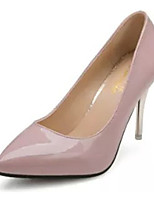 Women's Heels Fall Heels Patent Leather Casual Stiletto Heel Others Black / Pink / Red / White Others