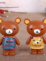 Teddy Bear Zakka Resin Furnishing Articles