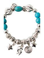 Bracelet/Strand Bracelets Alloy Irregular Fashionable Wedding Jewelry Gift Light Blue,1pc
