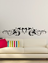 AYA™ DIY Wall Stickers Wall Decals,  Flower Rattan & Loving Heart Type PVC Panel Wall Stickers 20*120cm