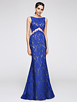 TS Couture® Formal Evening Dress Trumpet / Mermaid Bateau Floor-length Lace with Lace