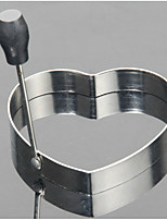Food Grade Stainless Steel Heart-Shaped Fried Eggs