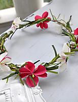 Vrouwen Hars Helm-Bruiloft Bloemen 1 Stuk Roze / Rood / Wit