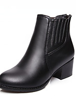 Women's Boots Fall / Winter Heels / Platform / Riding Boots / Fashion Boots / Bootie / Comfort / Round Toe Leatherette