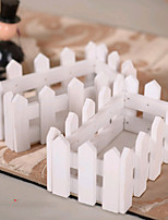 Wooden Fence Vase For Artificial Flowers Plants Table Wedding Party Home Decoration Gift Craft Arrangement Wholesale