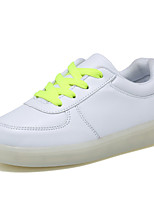 Boy's Sneakers Spring / Summer / Fall / Winter Round Toe PU Outdoor / Athletic / Casual Flat Heel Others / LED