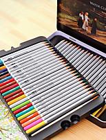 Deli 6524 Water-Soluble Colored Pencils Child Graffiti Pen 72 Color Coloring Garden
