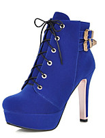 Women's Boots Spring / Fall / Winter Fashion Boots Leatherette Wedding / Party & Evening / Dress / Casual Stiletto Heel