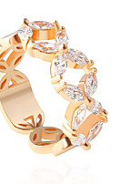 Alloy Ring Band Rings Wedding 1pc