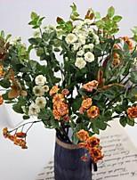 Hi-Q 1Pc Decorative Flowers Syringa Obtata Lindl Wedding  Home Table Decoration Artificial Flowers