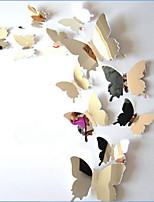 Animais Wall Stickers Autocolantes 3D para Parede / Autocolantes de Parede EspelhoAutocolantes de Parede Decorativos / Autocolantes de