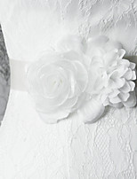 Satin Bröllop / Fest/afton / Vardag Fönsterram-Blommor / Krås Dam 98 ½in(250cm) Blommor / Krås