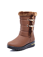 Women's Boots Winter Snow Boots / Riding Boots / Shoes & Matching Bags / Flats LeatheretteOutdoor /