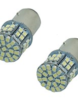 2PCS Super Bright 1157 1156BA15S 5W 50SMD 1206 3020 DC12V Turn Signal Lamp Brake Lights LED Car Auto Bulb