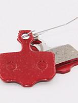 Frenos de bicicletas y piezas(Rojo,acero / sintético) -Bremsbelag