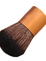 1 Powder Brush Synthetic Hair Portable Metal Face Others