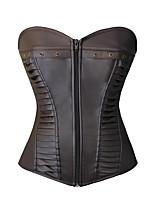 la mujer atractiva del hueso de acero del corsé de cintura y corpiño debajo del busto deporte cincher suave faja shaper adelgazamiento