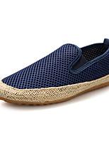 Men's Spring / Summer / Fall / Winter Comfort Tulle Casual Flat Heel Slip-on