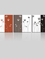 Set Tela Paesaggi / Floreale/Botanical Modern,Tre Pannelli Tela Quadrata Stampa artistica Wall Decor For Decorazioni per la casa