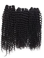 3 Pieces Deep Wave Human Hair Weaves Brazilian Texture Human Hair Weaves Deep Wave