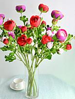 Hi-Q 1Pc Decorative Flowers  Lotus Water Wedding Home Table Decoration Artificial Flowers