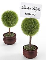 Bridesmaids / Bachelorette - 4Piece/Set Wedding décor Name Card Place holder / Rustic / Vintage / Garden Theme